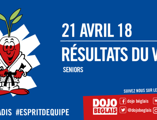 Résultats du Week-end : 21 avril 2018