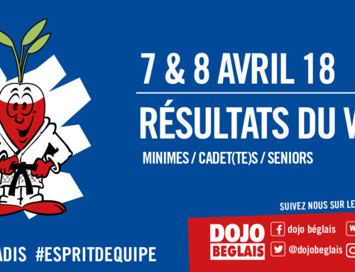 Résultats du Week-end : 7 et 8 avril 2018